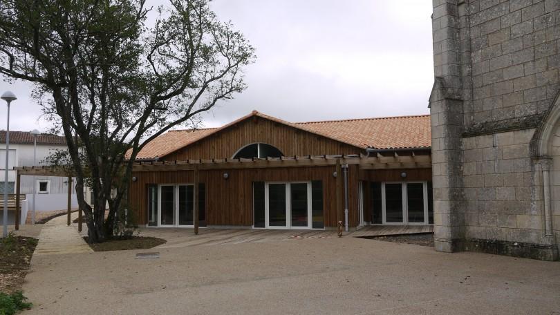 Construction d une maison d accueil sp cialis e de 2 500 for Constructeur maison 86