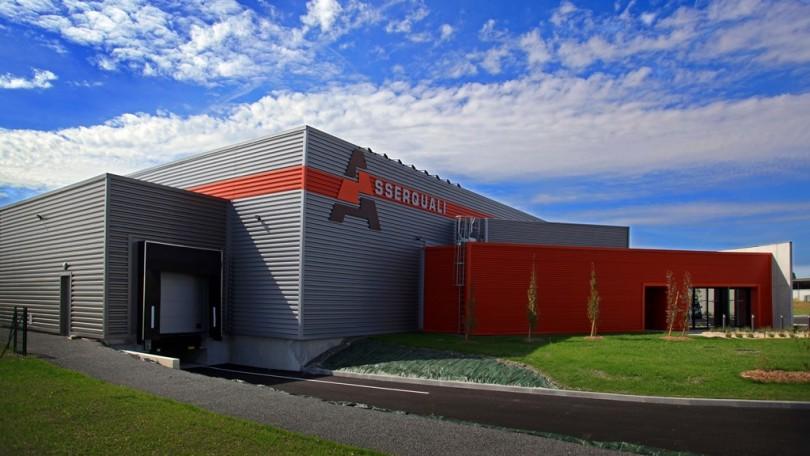 Construction de l usine bouchons asserquali gent 16 for Architecte cognac